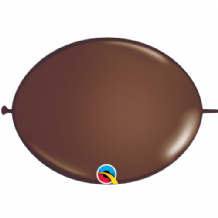 Qualatex Quick Link Balloons - 6 Inch Chocolate Quick Link Balloons (50pcs)